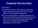 customer service quiz2