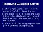 improving customer service1