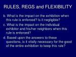 rules regs and flexibility2