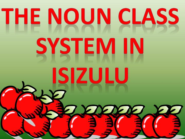noun classes in isizulu
