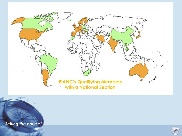 PIANC's Qualifying Members