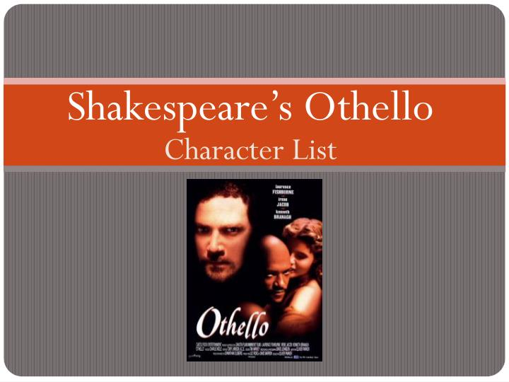in shakespeare's othello othello is as I am not what i am-- iago to rodrigo (othello 1165) despite the truth of iago's confession to rodrigo that he is not what he appears to be, his gullible sidekick.