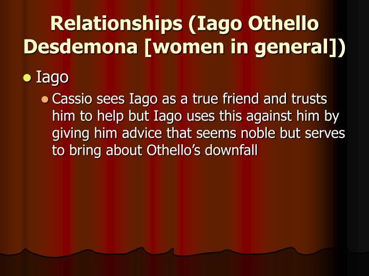 presentation of iago in othello