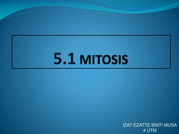 5 1 mitosis n.