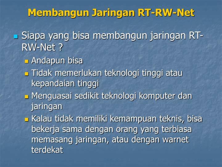 Membangun jaringan rt rw net2