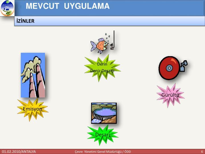 MEVCUT  UYGULAMA