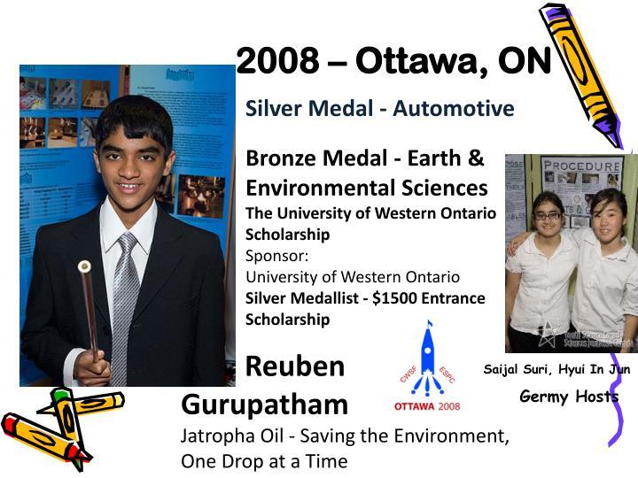 2008 – Ottawa, ON