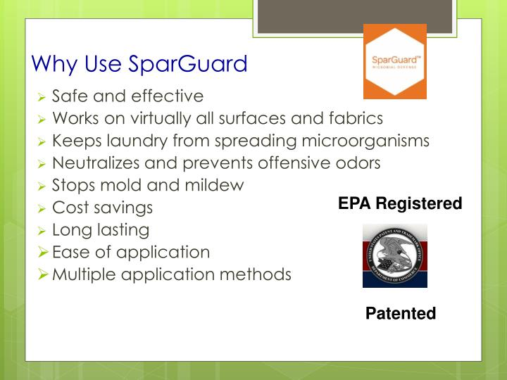 Why Use SparGuard