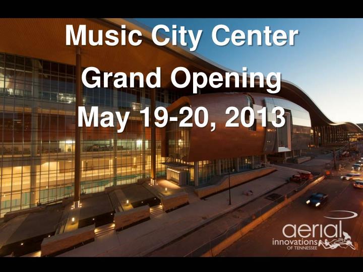 music city center n.