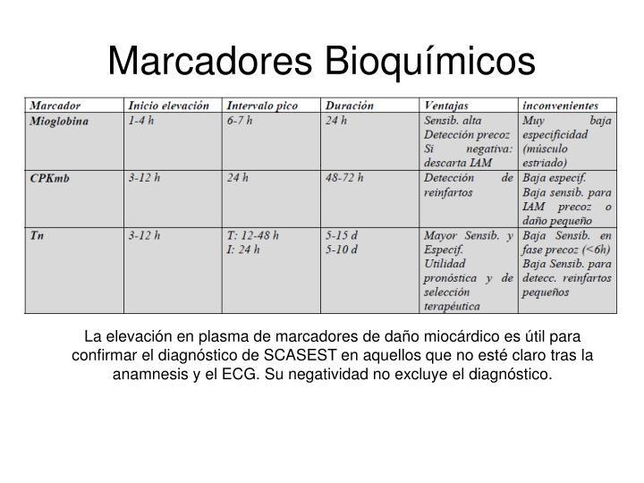 Marcadores Bioquímicos
