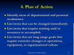 4 plan of action