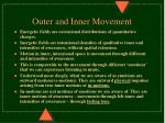 outer and inner movement