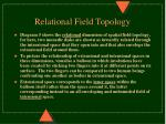 relational field topology