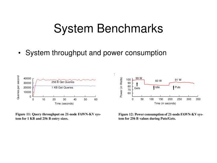 System Benchmarks