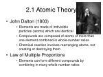 2 1 atomic theory1