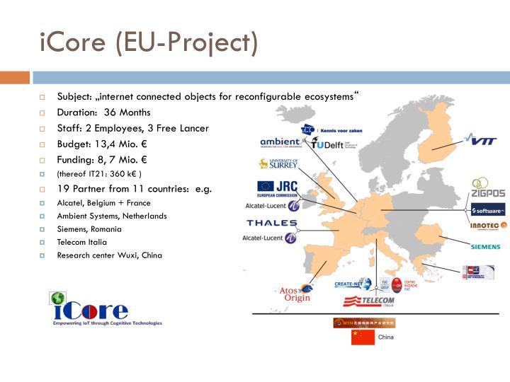 iCore (EU-Project)