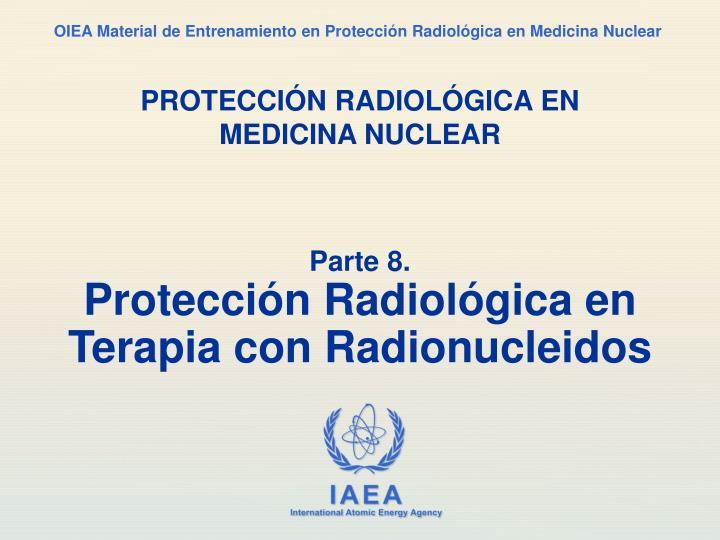 protecci n radiol gica en medicina nuclear n.