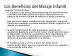 los beneficios del masaje infantil1