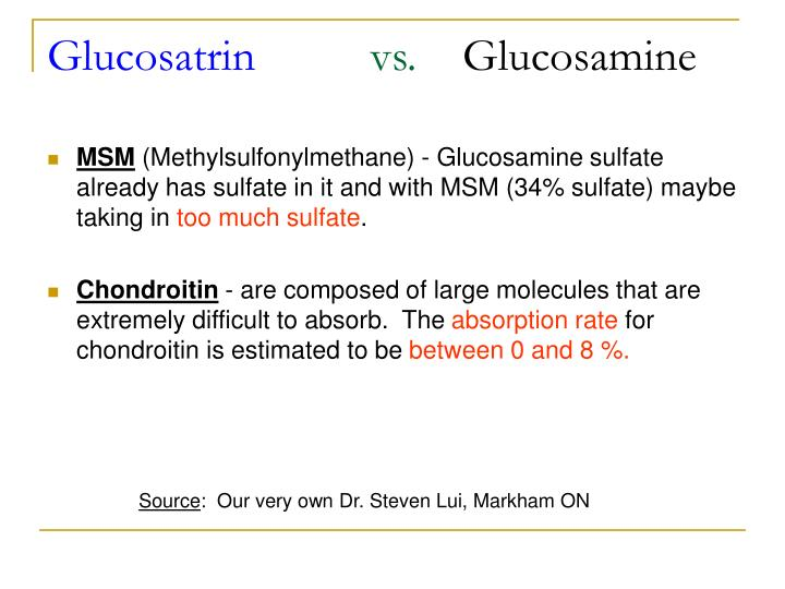 Glucosatrin