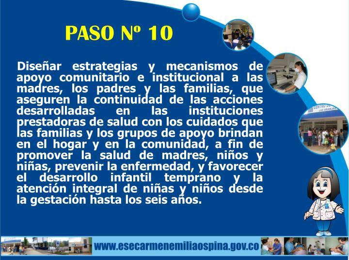 PASO Nº 10