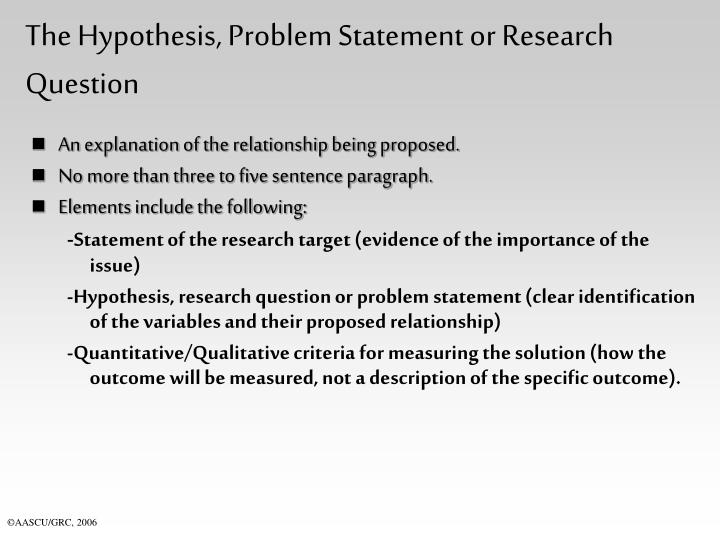 qualitative and quantitative problem statements Want to know more about qualitative research a problem statement and to determine studies a quantitative instead of qualitative.