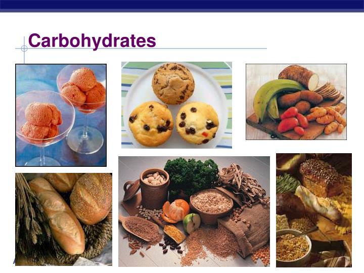 carbohydrates n.