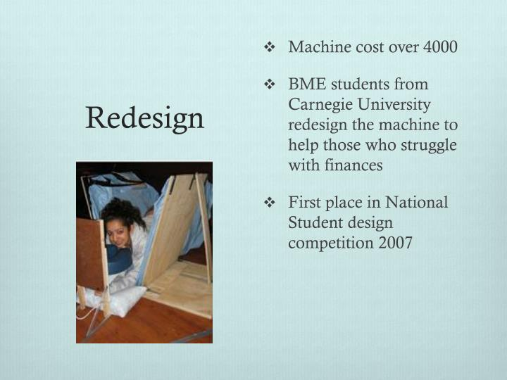 Machine cost over 4000