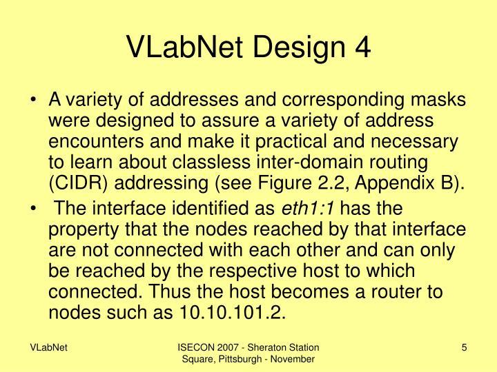 VLabNet Design 4