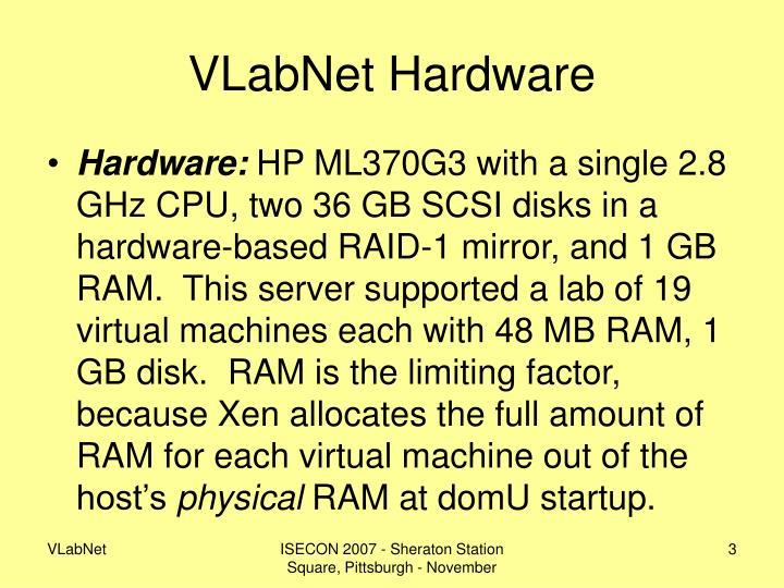 Vlabnet hardware
