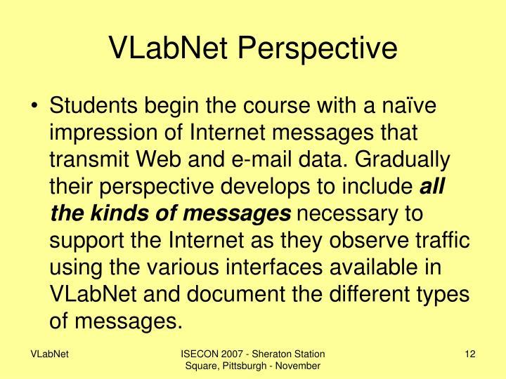 VLabNet Perspective