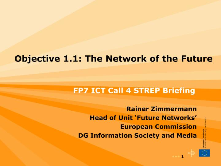 objective 1 1 the network of the future n.