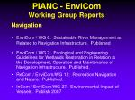 pianc envicom working group reports1