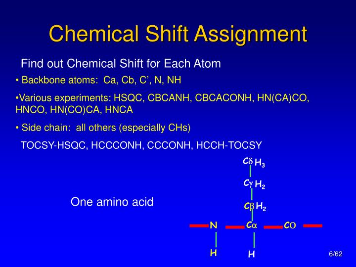 Chemical Shift Assignment