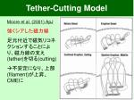 tether cutting model