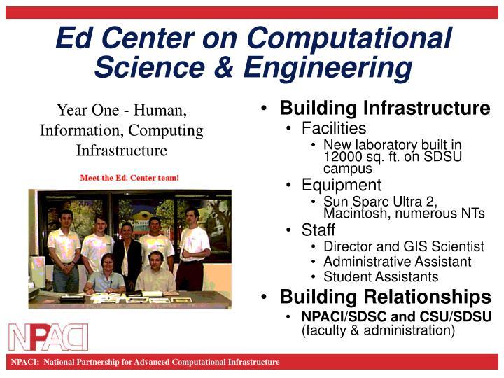ed center on computational science engineering n.