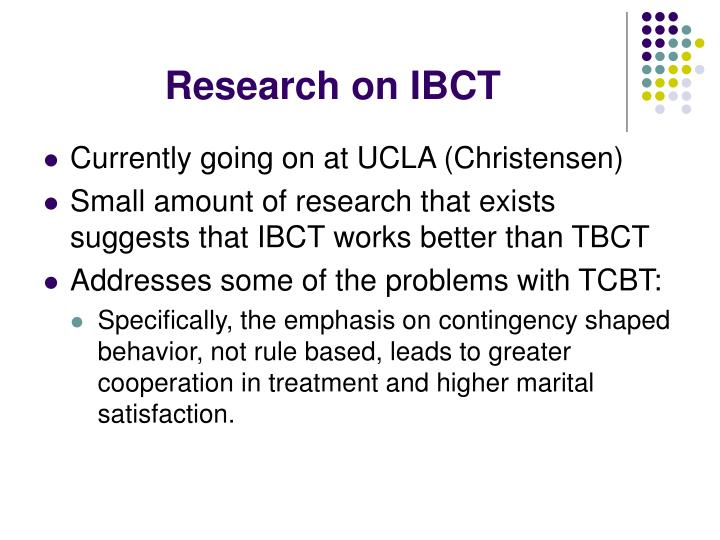 Research on IBCT
