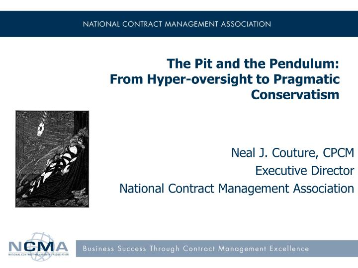 the pit and the pendulum from hyper oversight to pragmatic conservatism n.