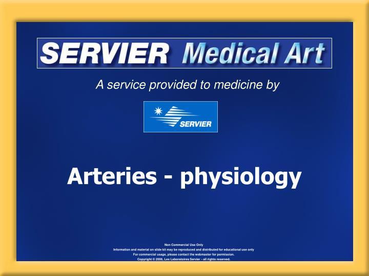 arteries physiology n.