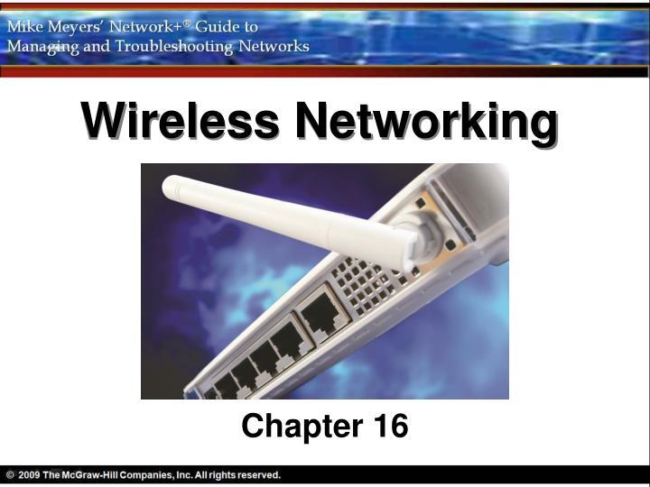 wireless networking n.