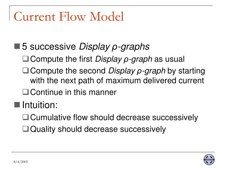 Current Flow Model