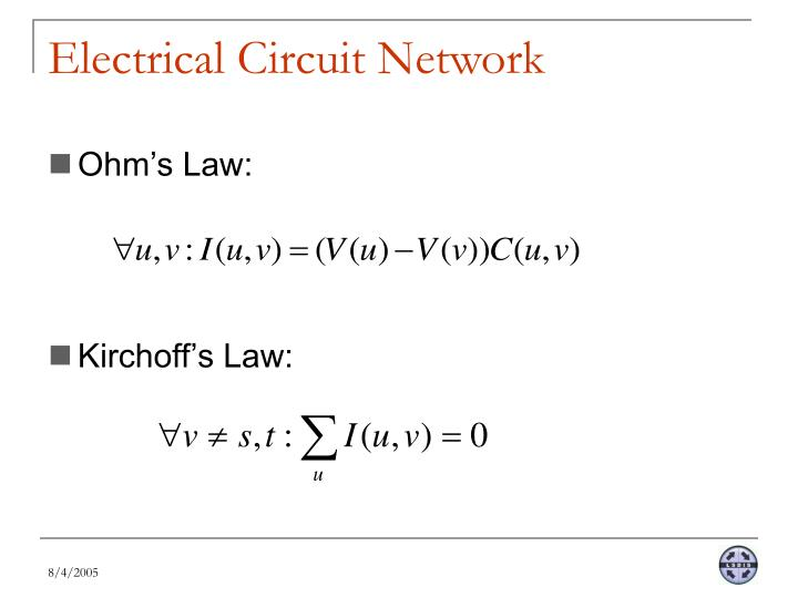 Electrical Circuit Network
