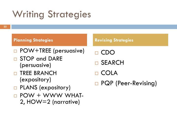 strategies writing descriptive essay