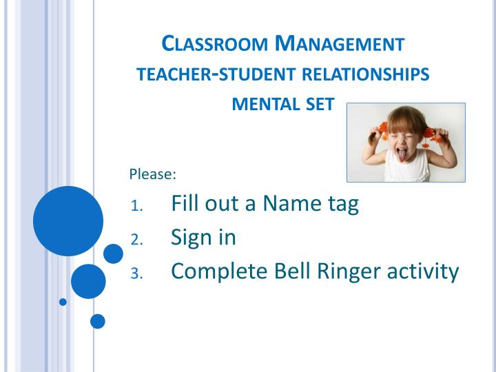 classroom relationships Teacher & peer relationships & classroom engagement 103 relationships is not easy to support teachers in meeting this challenge, the goals of this chapter are: (1) to explain, from a motivational perspec.