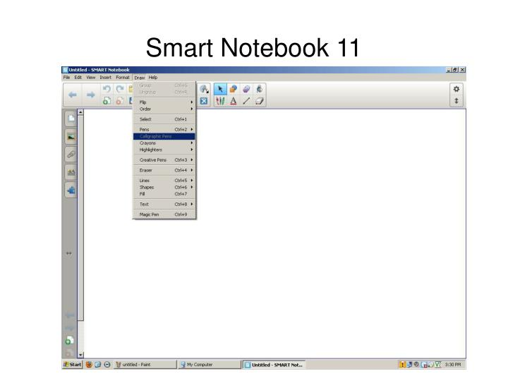 Smart Notebook 11