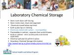 laboratory chemical storage