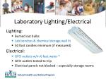 laboratory lighting electrical