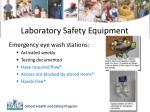 laboratory safety equipment