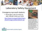 laboratory safety equipment1