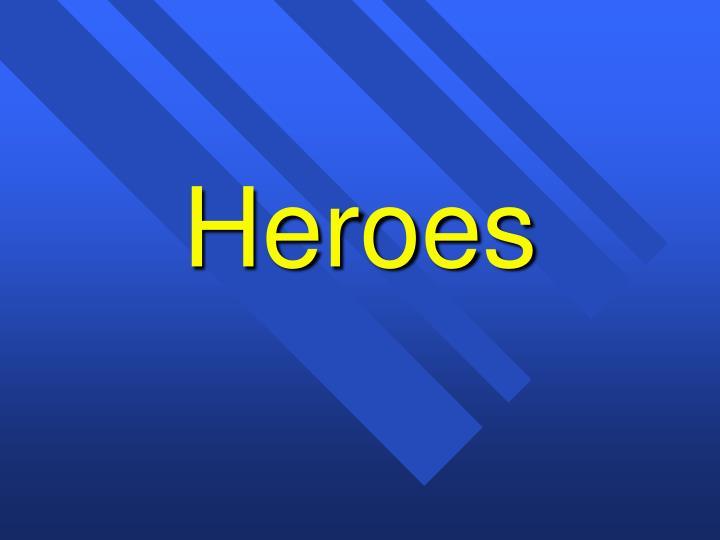 heroes n.