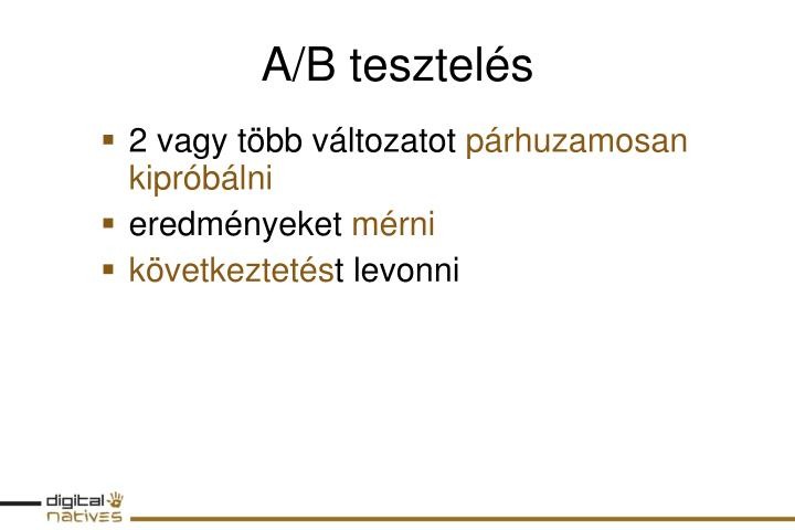 A b tesztel s